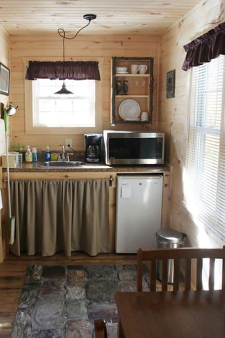 Warming kitchen