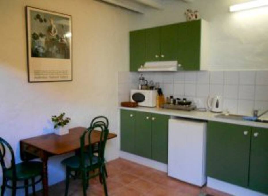 The kitchen - dining room
