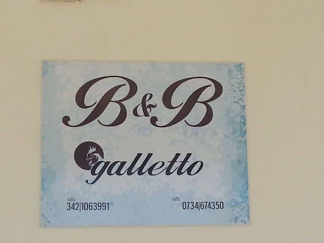 B&B GALLETTO camera tripla n 20