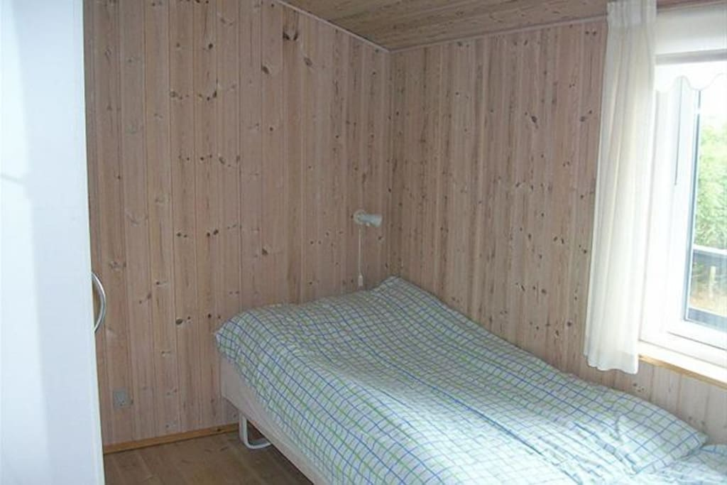 Second bedroom including two twin beds