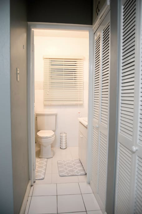 Our ensuite bathroom ensures your privacy and comfort.