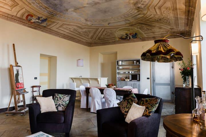 BILIARDO - Castello di S.Sebastiano - San Sebastiano Da Po - Apartment