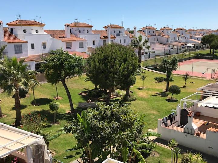 Vacaciones familiares en Casa de  Playa El Portil