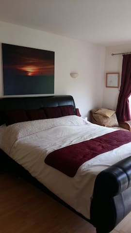double room with ensuite wetroom - Peatling Parva - Bed & Breakfast