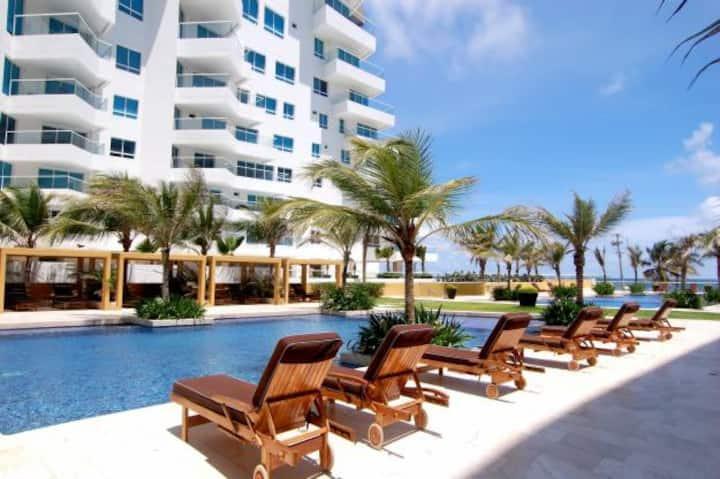 Luxury Beach Apt. in Morros Resort