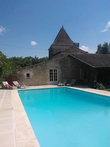 The House of the Vineyard & Pool - Duras - Apartment