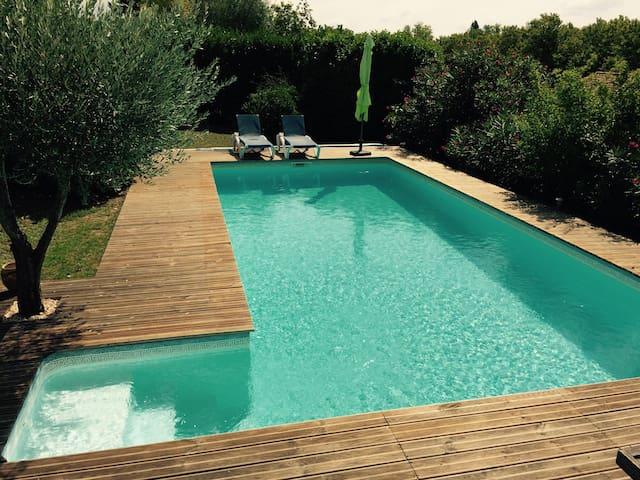 Maison avec jardin, piscine privée