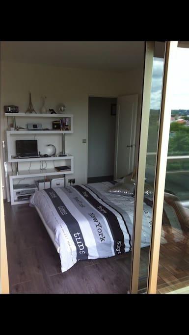 Chambre double privé