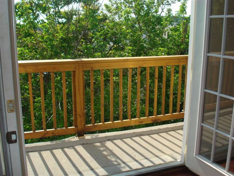 Private Deck from den/Study