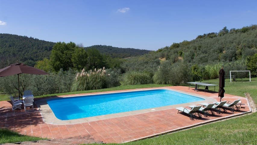 Villa with a View over Florence