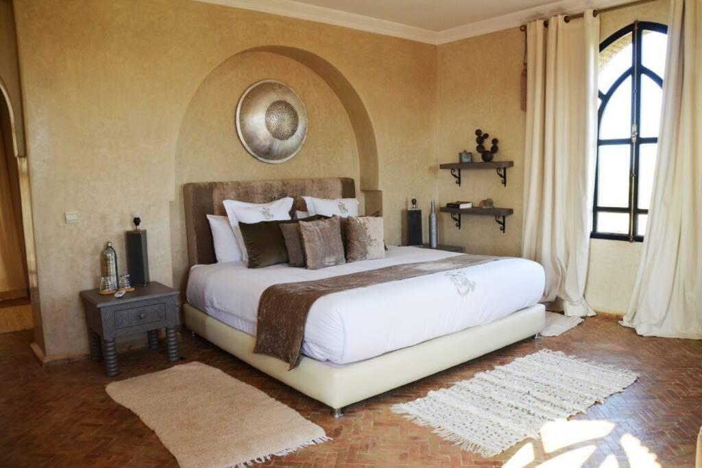 Suite de luxe avec deux terrasses privatives