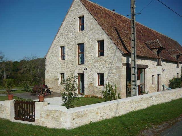 Gîte de l'Arnon - Saint-Baudel - Natuur/eco-lodge