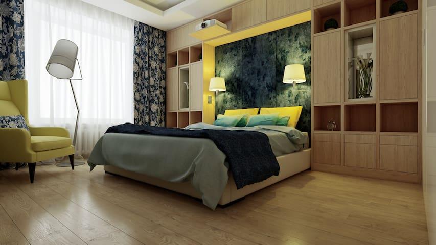 Sliding wall - Buziaș - Lägenhet