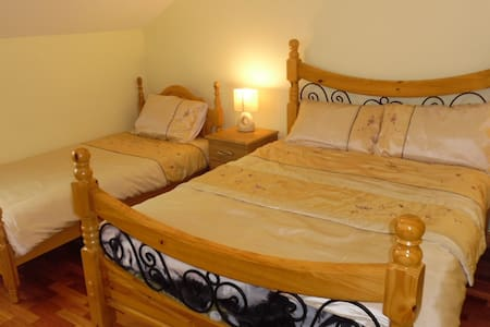 Bridge Bar B&B - Double + Single En Suite Room - County Donegal