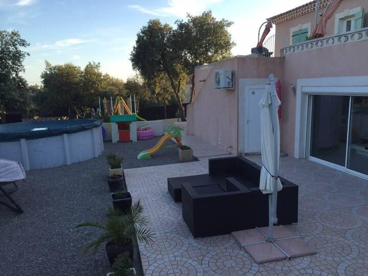 Villa aux Portes de La Camargue