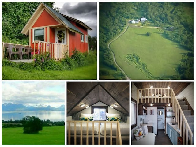 New Cozy Tiny House On Historic 28 Acres 180° View