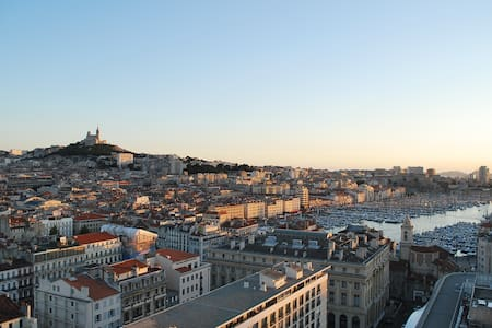 Stunning view in the city center 1 - Marseille - Bed & Breakfast