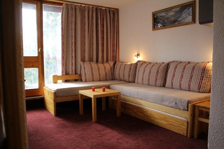 Appartement 4 étoiles ♥ Skis aux pieds ♥ Arcs 1800
