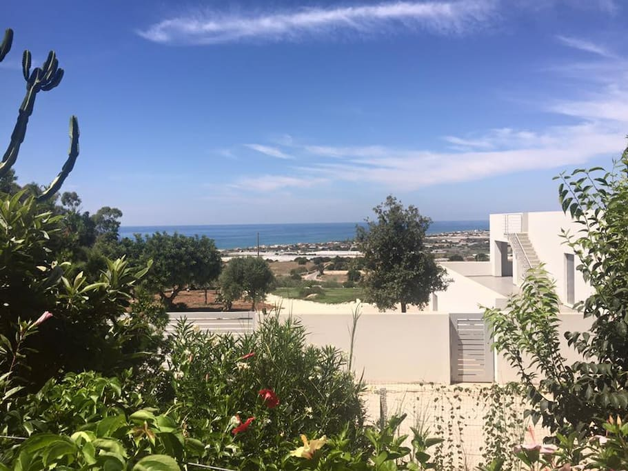 View of the Med from the veranda