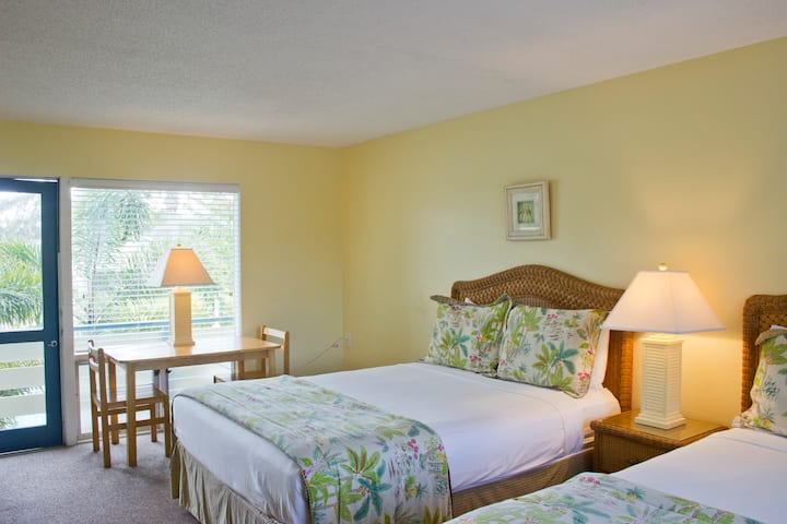 Studio IV:  2 queen beds 2-4 guests