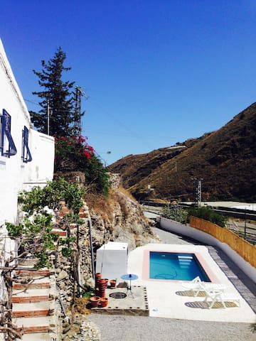Cortijo with Private Pool/Garden and WIFI - Granada - Apartment