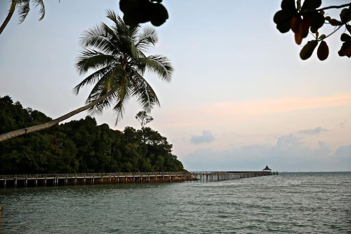 Vacation home in tropical garden - Batam City - Haus