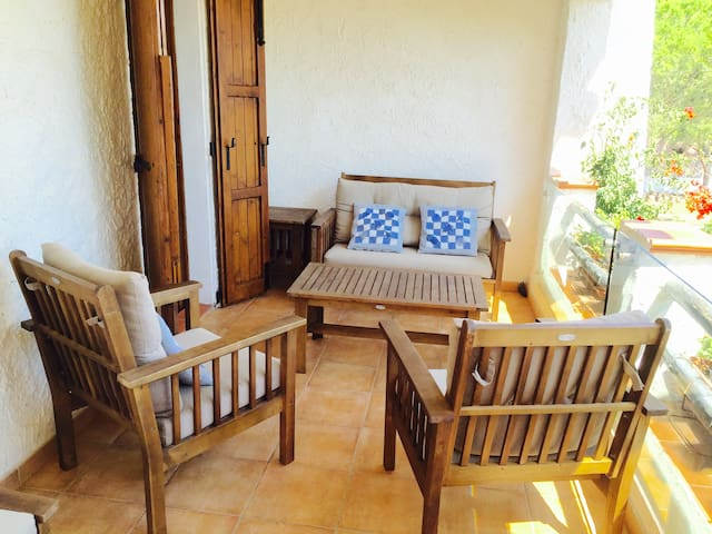 Apartment in a villa on the beach near to Cagliari