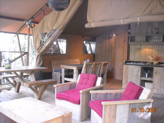 Safari Lodge - Labastide-de-Virac - Cabin