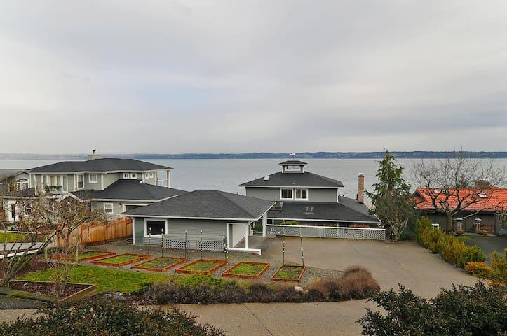 Waterfront getaway close to Seattle - Vashon - Casa