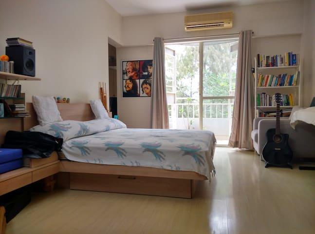 Spacious, clean & quiet home stay - Pune - Apartamento