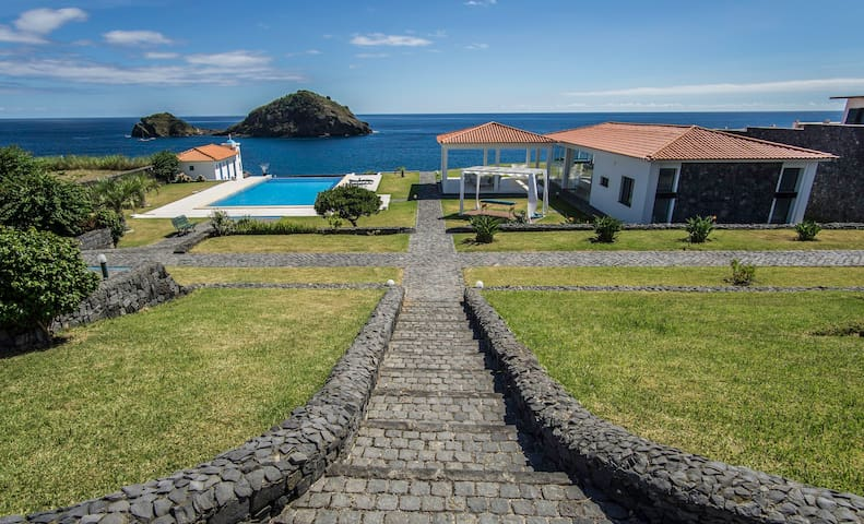374 CK seaside guest house - Vila Franca Do Campo - Huis