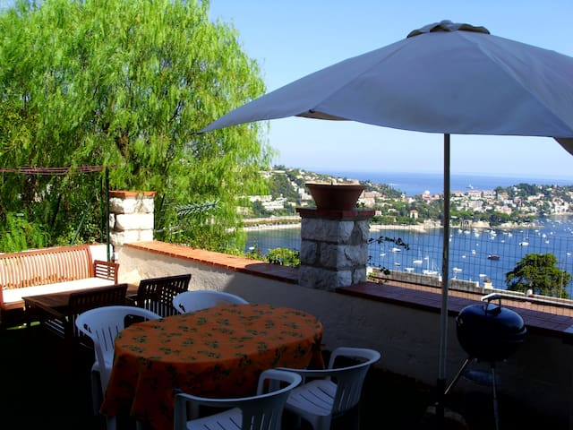 House with full sea view - Villefranche-sur-Mer - Ev