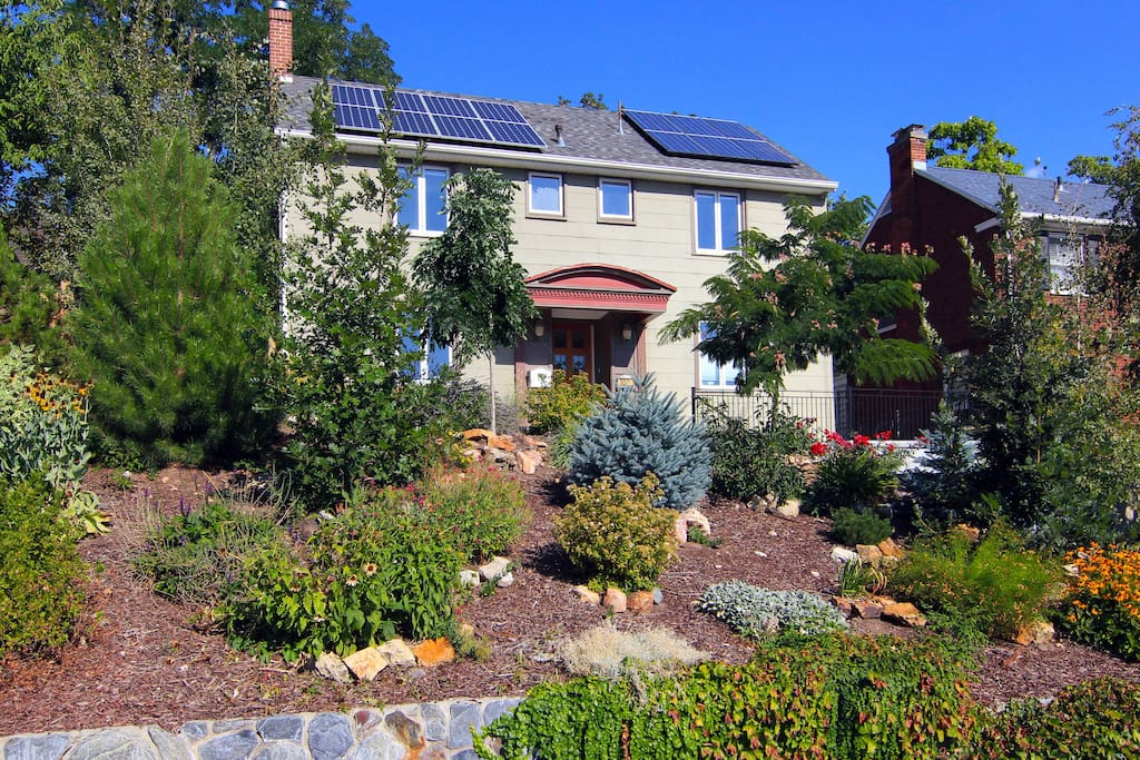 100% remodeled vintage home is also 100% solar