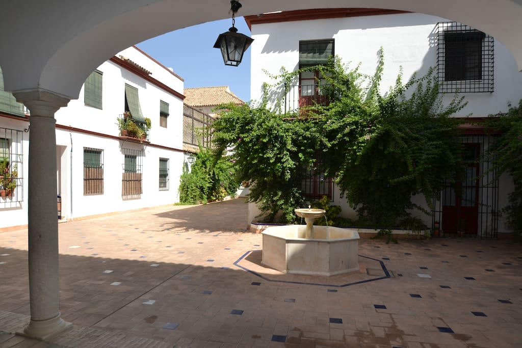 Coutyard of the building