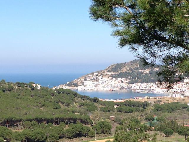 Bella vista at Villa Serena! - La Selva de Mar - Talo