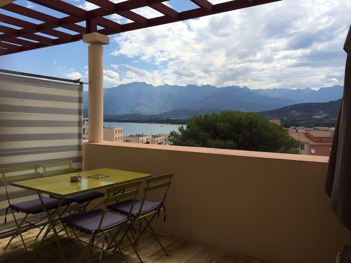 Appartement Calvi - 2p  terrasse