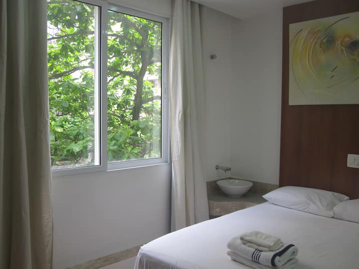 Mini apartment, Hotel style (Blue suite)
