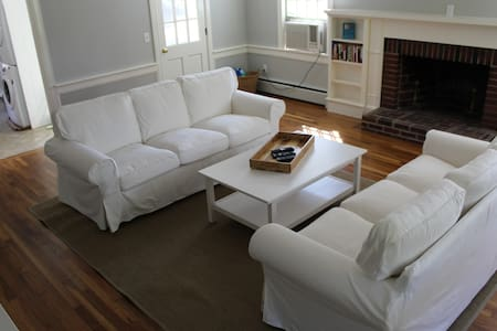 3BR, sleeps 8, Walk to Inman Beach - Ev