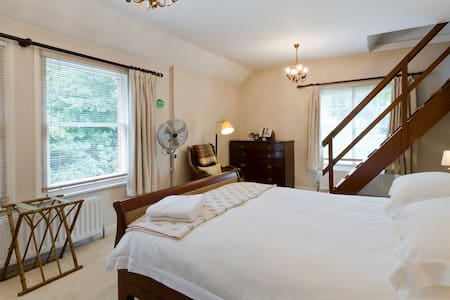 Peaceful double room in quiet house - Wargrave - Rumah