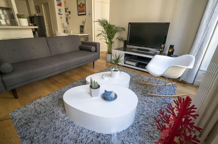 Appartement moderne avec balcon - Rue des Archers - Lione - Appartamento