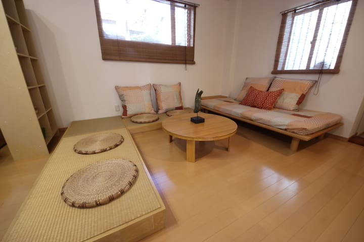 HUGE room w/ FREE Car Pick up Shinjuku on foot 10m - Shibuya  - Apartment