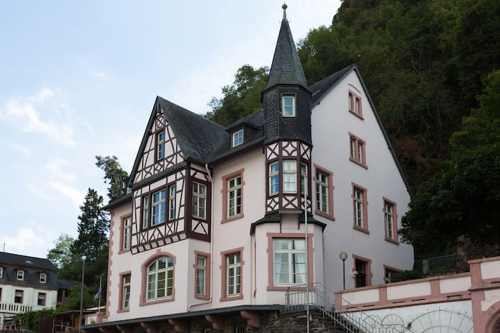 Stunning villa on the Rhine river