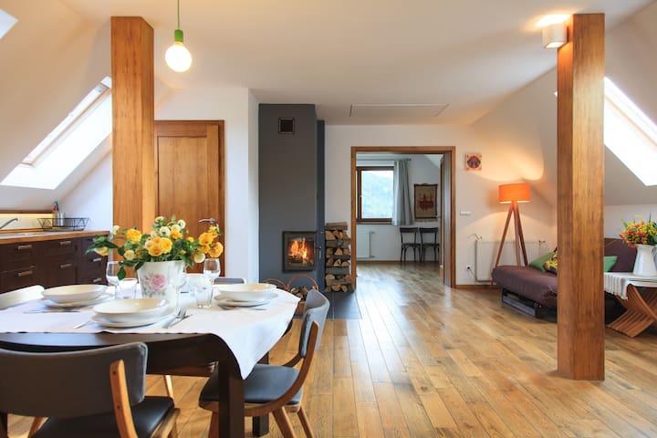 Apartament KURNIK- Beskid Wyspowy - Stróza k Myslenic - Lägenhet