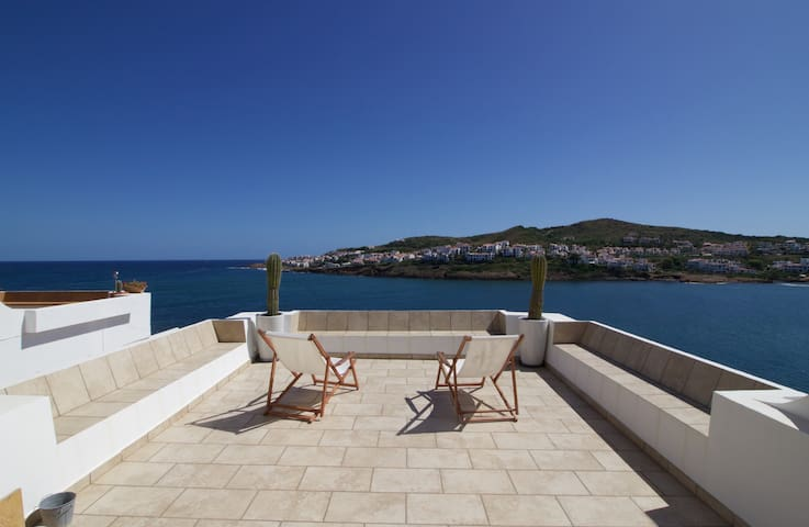 Apartament with amazing terrace 1 line of the Sea