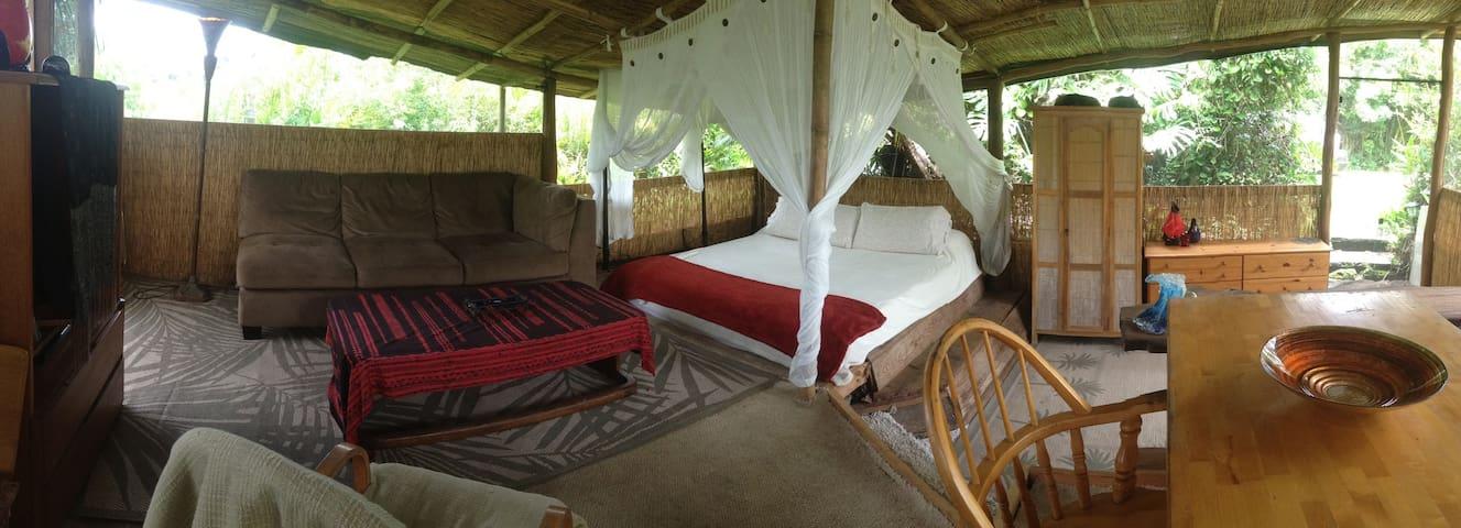 Bamboo Bungalow Romance - Pāhoa - Cottage