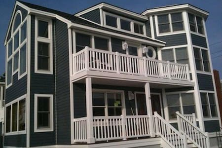 Spacious Barnegat Light Oceanfront - Σπίτι