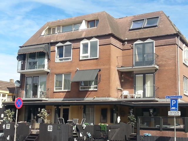Budget appartement 200 m van strand - Wijk aan Zee