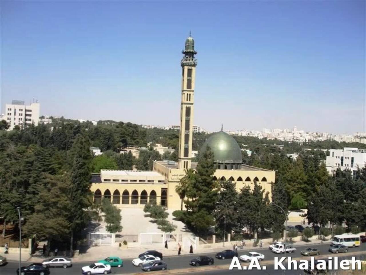 The building is close to the famous Jordan University.