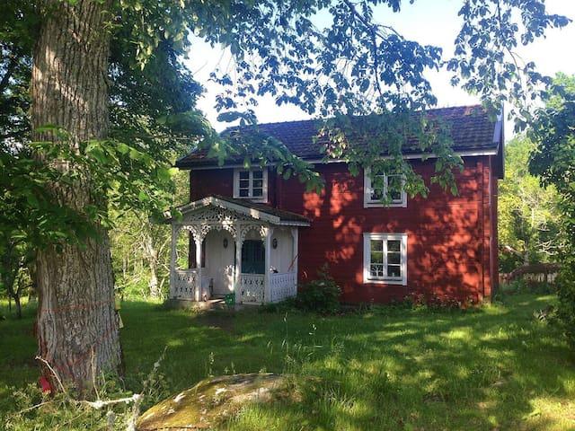 3 huse i Småland, sauna, sportshal - Börsebo - Dům