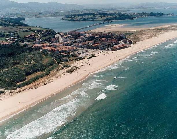 Bonito apartamento a 5 minutos de la playa. - Somo
